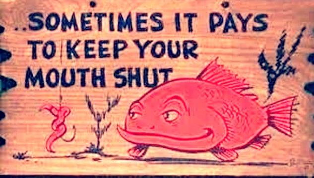 Beautiful Women keep their mouthsSHUT!