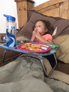 #mycurrentsituation Sick baby girl day before vacation!!