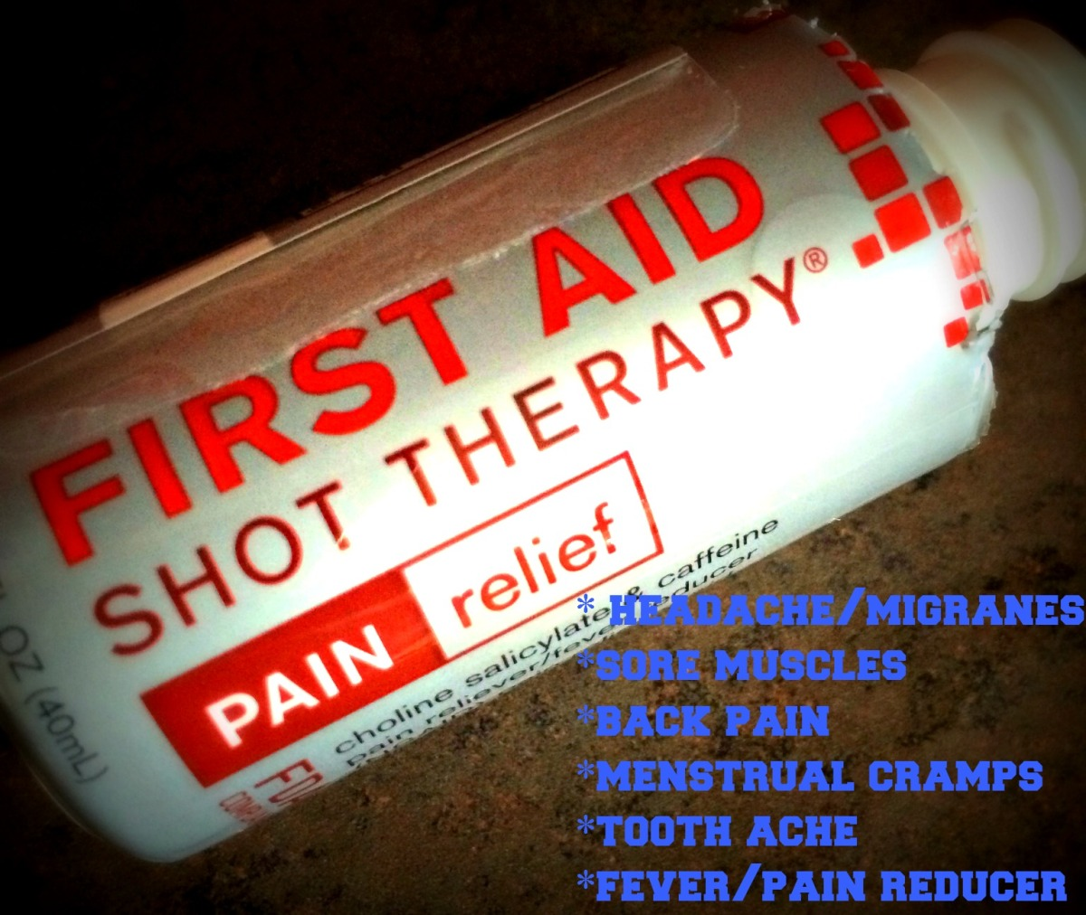 FAST PAIN RELIEF in a DrinkableSHOT
