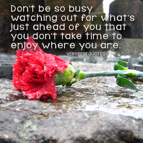 Enjoying-life-quotes-dont-be-so-busy
