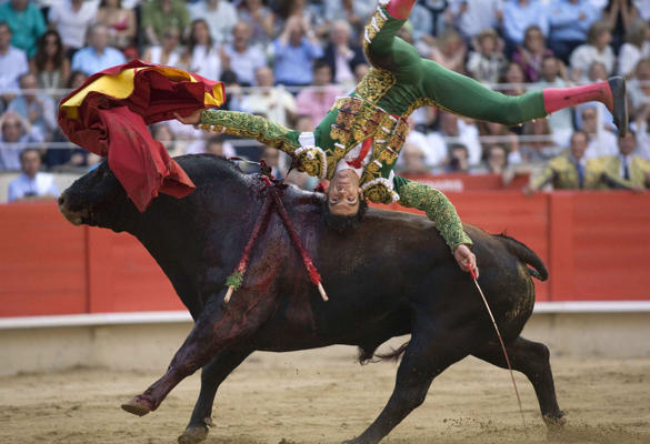 Spanish bull fighter Jose Tomas