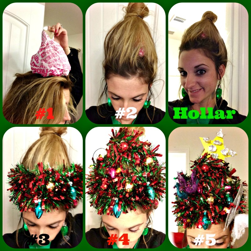 How To Do Your Hair Like A Christmas Tree Thecannonball Org