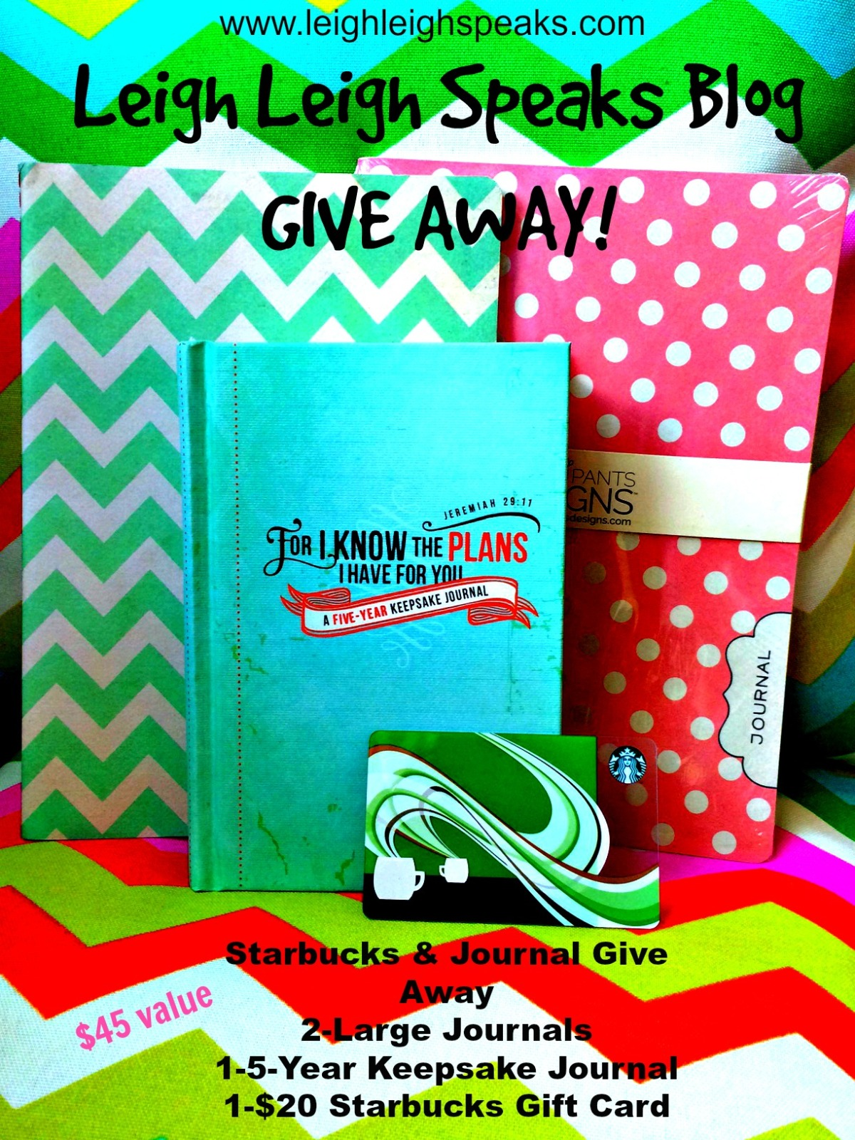 Starbucks and Journals (GIVE AWAY){CLOSED}