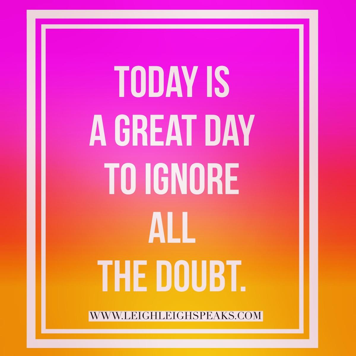 Silence Doubt-TODAY